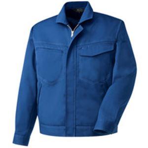 レディースファッション 関連 長袖ブルゾン 制電ソフトツイル ブルー Sサイズ