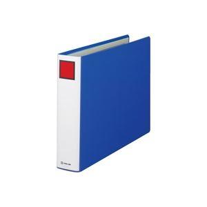 ファイル・バインダー クリアケース・クリアファイル 関連 日用品雑貨 便利グッズ (まとめ買い)スーパードッチファイル 1495E B4E 50mm 青 【×5セット】