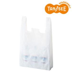 日用品雑貨・文房具・手芸 関連 (まとめ)乳白レジ袋 No60 100枚入×10