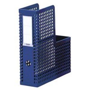 ファイル・バインダー クリアケース・クリアファイル 関連 日用品雑貨 便利グッズ ボックスファイル ファイルボックス SBX-85 A4S 青 10冊
