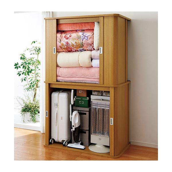 インテリア・寝具・収納 収納家具 関連 組立簡単ジャバラ収納庫 2: 幅110cm