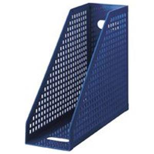 文具・オフィス用品 生活日用品 雑貨 ボックスファイル ファイルボックス SBX-87 A4 青 10冊