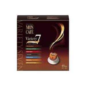 水・飲料 コーヒー 関連 (まとめ買い)片岡物産 モンカフェバラエティセブン 45袋入1箱 【×3セット】