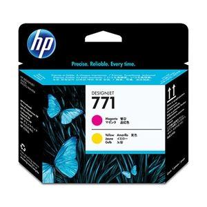 AV・デジモノ HP HP 771 プリントヘッド M&Y CE018A