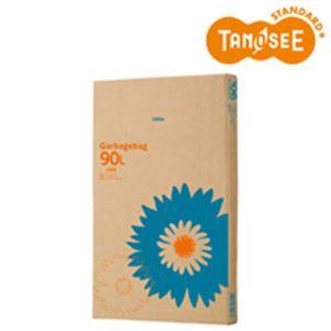 日用品・生活雑貨 袋 関連 (まとめ)TANOSEE ゴミ袋 半透明 90L 110枚入×3箱