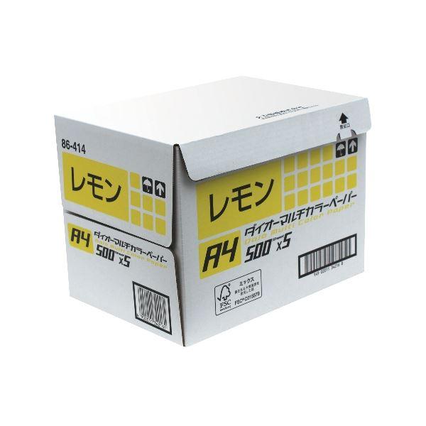パソコン・周辺機器 PCサプライ・消耗品 コピー用紙・印刷用紙 関連 ダイオーカラーペーパーA3 レモン DCP3A3