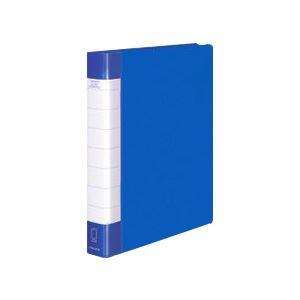 生活 雑貨 通販 (業務用セット) コクヨ クリヤーブックタフボディ(A4タテ) 背幅3.8cm 青 【×3セット】