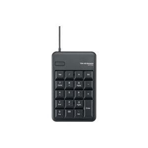 パソコン・周辺機器 (業務用50セット) エレコム ELECOM USBテンキーHUB付 TK-TCM012BK/RS ブラック 【×50セット】