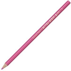 文房具・事務用品 筆記具 関連 (業務用50セット) 三菱鉛筆 色鉛筆 K880.13 もも 12本 【×50セット】