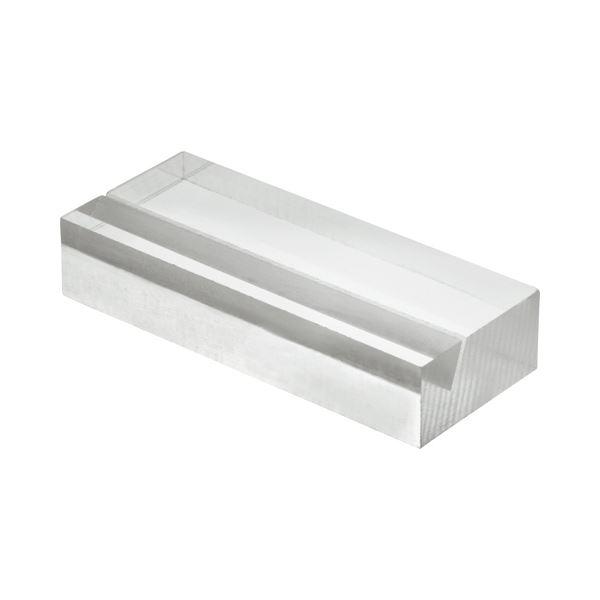 文具・オフィス用品 (まとめ) 光 透明アクリルカード立て 20×50×10mm A592-1-6 1パック(6個) 【×4セット】