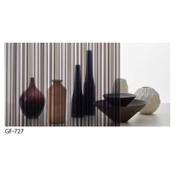 おしゃれな家具 関連商品 ストライプ 飛散防止 ガラスフィルム GF-727 92cm巾 9m巻
