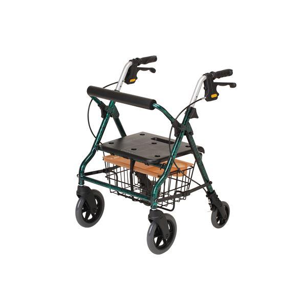 健康器具 イーストアイ 歩行車 セーフティーアームロレータ SSタイプ グリーン RSAS-G