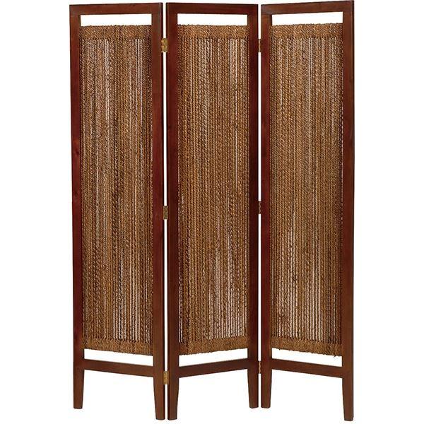 生活 雑貨 通販 パーテーション(スクリーン) グランツシリーズ 3連 木製 高さ150cm アジアン風 ナチュラル【代引不可】