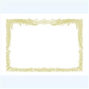 生活日用品 (業務用100セット) タカ印 賞状用紙 10-1050 B5 縦書 10枚