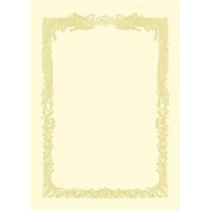 生活日用品 (業務用50セット) タカ印 賞状用紙 10-1088 A3 横書 10枚