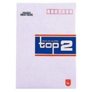 文具・オフィス用品 (業務用300セット) オキナ 洋型封筒 ET2 トップ2 10枚 【×300セット】