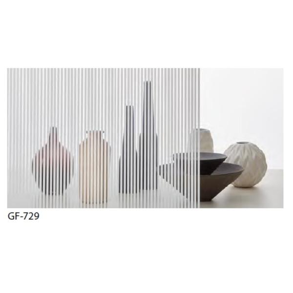 ストライプ 飛散防止 ガラスフィルム GF-729 92cm巾 3m巻