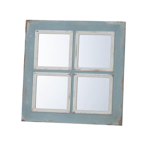 インテリア・家具 ウォールミラー (アンティーク加工 鏡) TSM-51