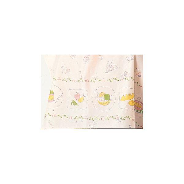 健康器具 生活日用品 雑貨 (まとめ買い)食事用エプロン 食事用エプロン (4)食器柄ベージュ H9605【×5セット】