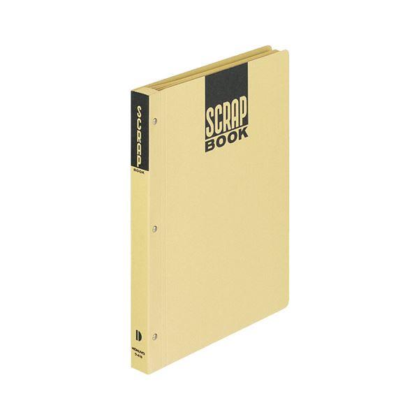 生活用品・インテリア・雑貨 (まとめ) コクヨ スクラップブックD(とじこみ式) B5 中紙28枚 背幅25mm クラフト ラ-41N 1冊 【×20セット】