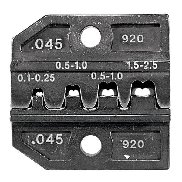 DIY・工具 関連商品 RENNSTEIG(レンシュタイグ) 624 045 3 0 クリンピングダイス 624 045[オープンバレル平端子用]