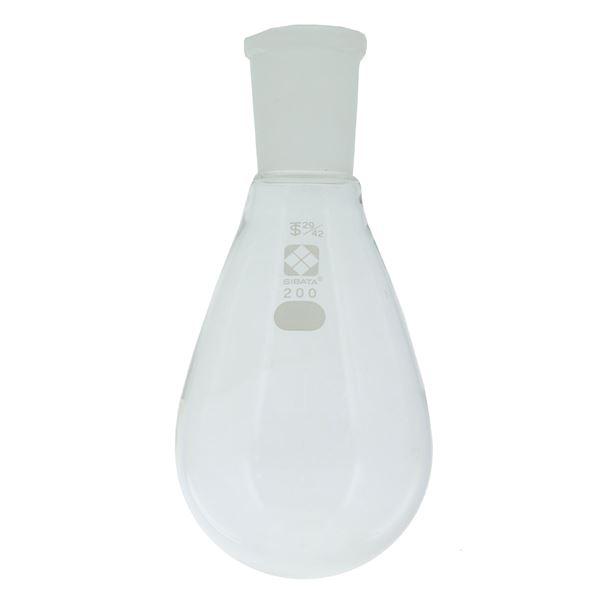 科学・研究・実験 関連商品 共通摺合なす形フラスコ 200mL