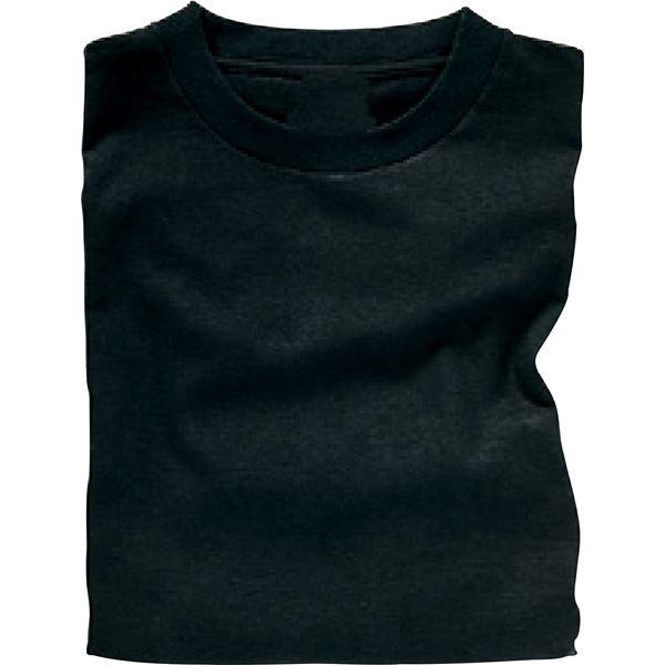ホビー・エトセトラ 生活日用品 雑貨 (まとめ買い)カラーTシャツJ 黒 【×40セット】