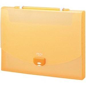 生活用品・インテリア・雑貨 (業務用50セット) セキセイ プレイングケース AP-952 A4 オレンジ 【×50セット】