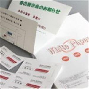 生活日用品 (業務用100セット) Nagatoya ホワイトペーパー ナ-021 特厚口 B5 50枚