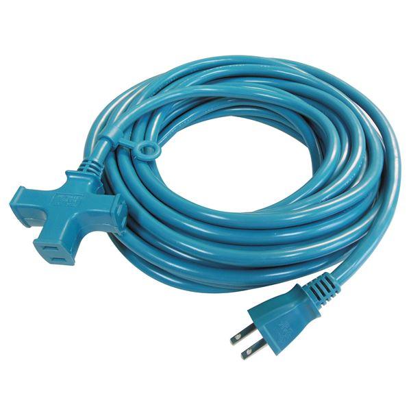 DIY・工具 (業務用10個セット) 正和 トライアングルタップ VCTM-20MA 20m ブルー 日本製