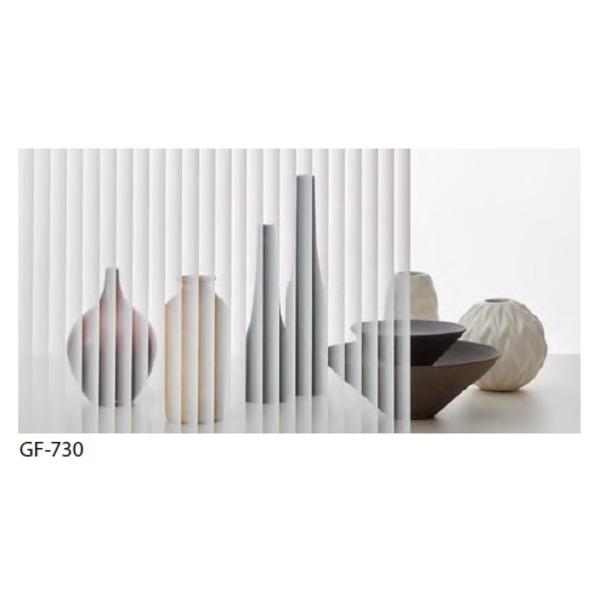 ストライプ 飛散防止 ガラスフィルム GF-730 92cm巾 7m巻