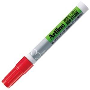文房具・事務用品 筆記具 関連 (業務用300セット) アートラインマーカー K-70 丸芯3 赤