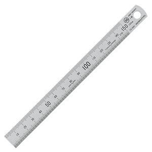 文具・オフィス用品 (まとめ) コクヨ ステンレス直定規 C型 JIS1級 15cm TZ-1341 1個 【×15セット】