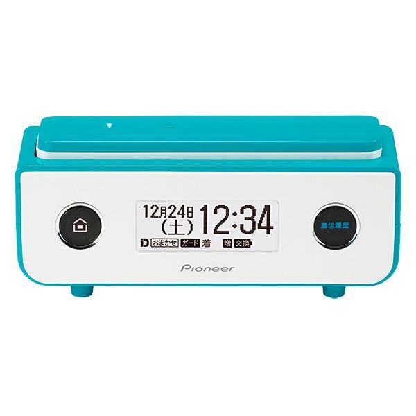 家電 関連商品 パイオニア デジタルフルコードレス留守番電話機 ターコイズブルー TF-FD35S(L)