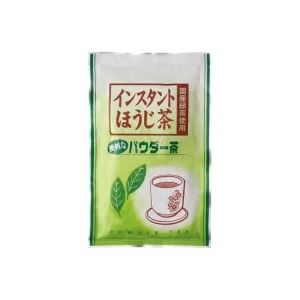 フード・ドリンク・スイーツ (業務用100セット) 寿老園 給茶機用ほうじ茶パウダー60g 【×100セット】