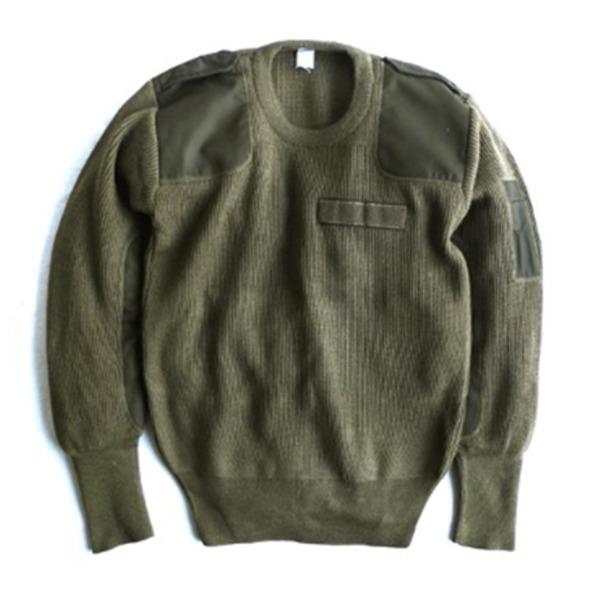ミリタリー関連商品 イタリア軍放出ウールコマンドセーター