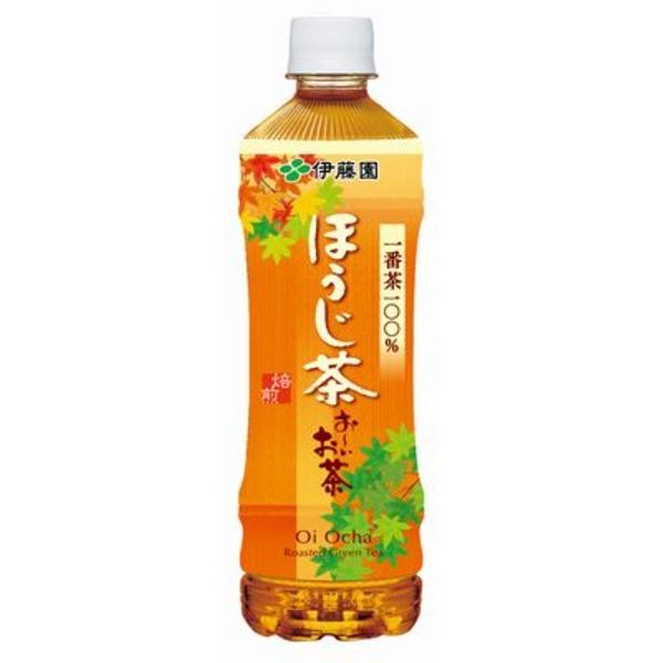日本茶 お~い お茶 関連 【まとめ買い】おーいお茶 ほうじ茶 ペットボトル 525ml×48本(24本×2ケース)
