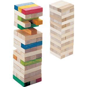 ホビー・エトセトラ 便利 日用雑貨 (まとめ買い)木製つみきゲーム(箱入) 【×15セット】