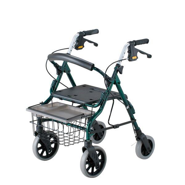 日用品雑貨 関連 イーストアイ 歩行車 セーフティーアーム ロレータ (1)グリーン RSA-G