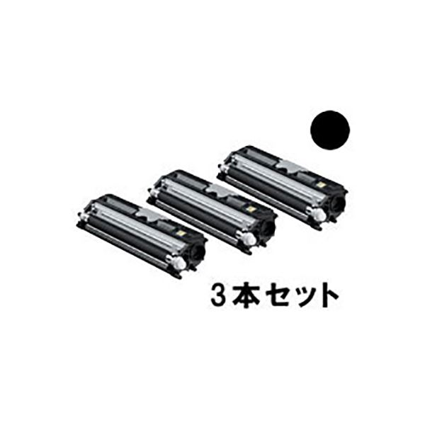 パソコン・周辺機器 【純正品】 コニカミノルタ TVP1600K ブラックトナーバリューパック