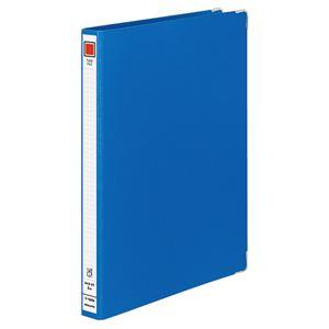 (まとめ) コクヨ チューブファイル Mタイプ 片開き A4タテ 200枚収容 背幅34mm 青 フ-1620B 1冊 【×10セット】