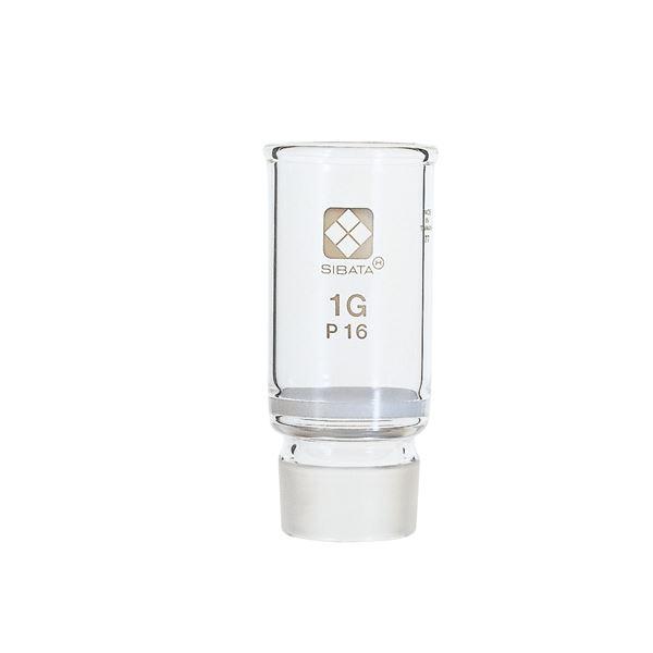 キッズ 教材 自由研究・実験器具 関連 共通摺合ガラスろ過器 1G るつぼ形 分離足式 P16
