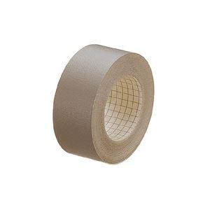 DIY・工具 接着・補修用品 粘着テープ 関連 (業務用100セット) プラス 紙クロステープ AT-035JC 35mm×12m 濃灰 【×100セット】
