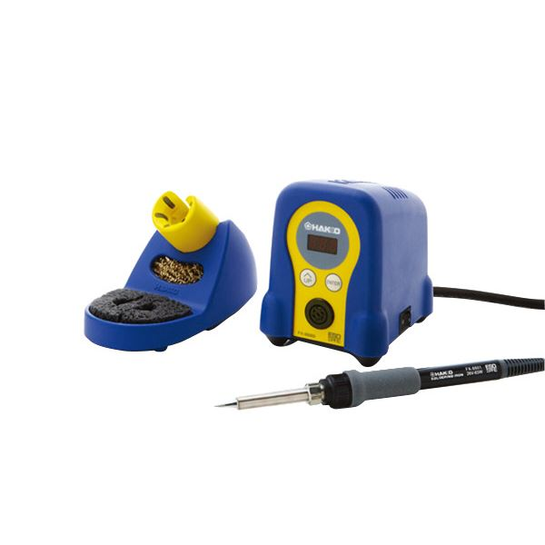 DIY・工具 手動工具 関連 白光 FX888D-01BY 小型温調式はんだこてブルーイエロー
