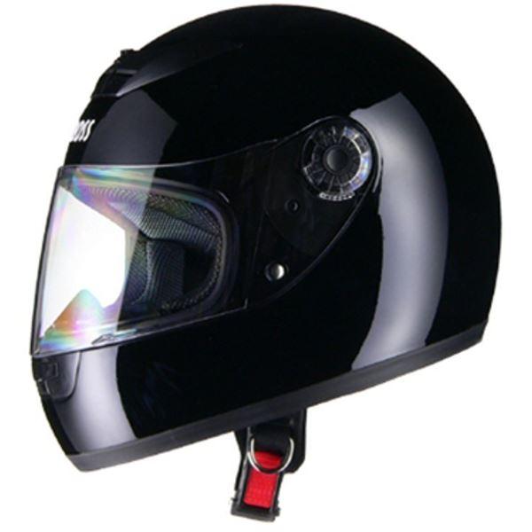 バイク用品 関連商品 フルフェイスヘルメット CR715 ブラックBK フリー