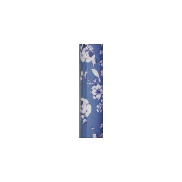 介護用品 関連 フジホーム ステッキ(折りたたみ) かるがもファム折畳S (3)フラワー 3284 WB3712