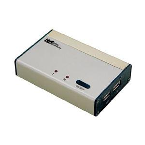 ラトックシステム パソコン自動切替器USB接続DVI・Audio対応(PC2台用) REX-230UDA