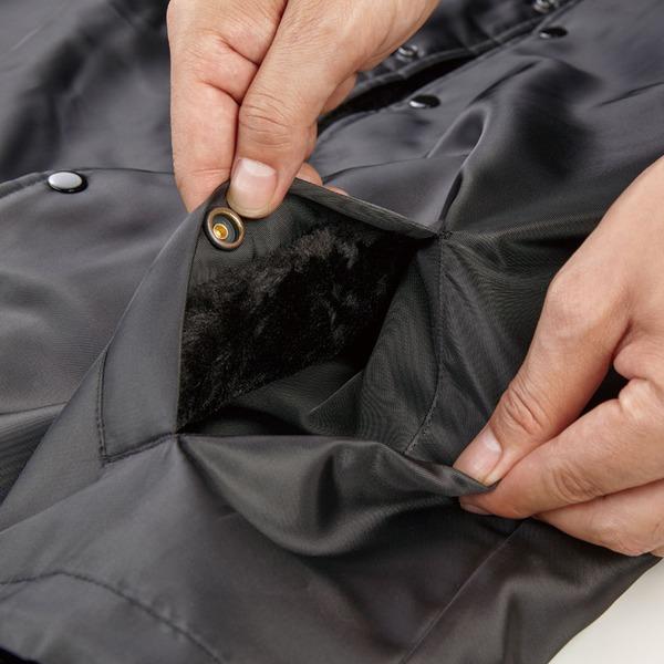 犬用品 ドッグウェア ブルゾン・ジャンパー 関連 撥水防風加工 裏ボア付コーチジャケット OD XL