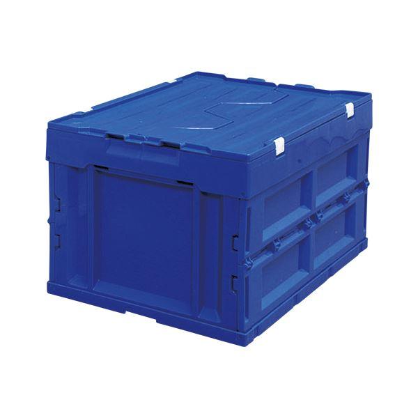 (業務用セット) ブルー アイリスオーヤマ【×2セット】 ハード折りたたみコンテナフタ一体型 ブルー HDOH-40L 1個入 ブルー 1個入【×2セット】, セレクトショップアン:335f68ed --- data.gd.no
