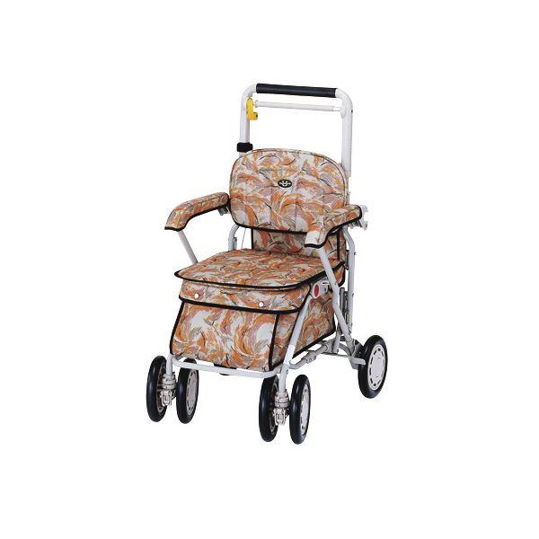 介護用品 移動・歩行支援用品 カート・シルバーカー 関連 象印ベビー シルバーカー サンホリデイU248 ピーコックベージュ 1017 401017